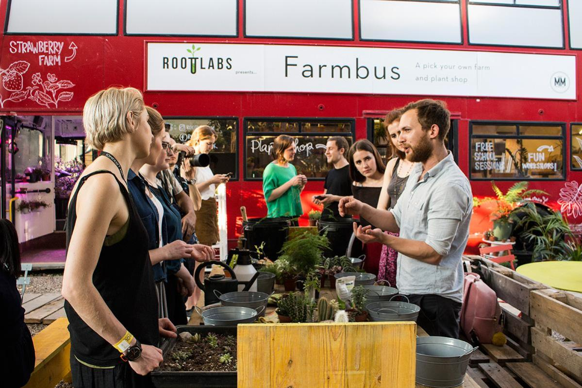 Farmbus at Mercato Metropolitano by Sara Montali