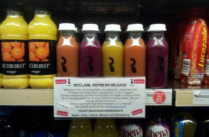 Rejuce products retailed at �1.50