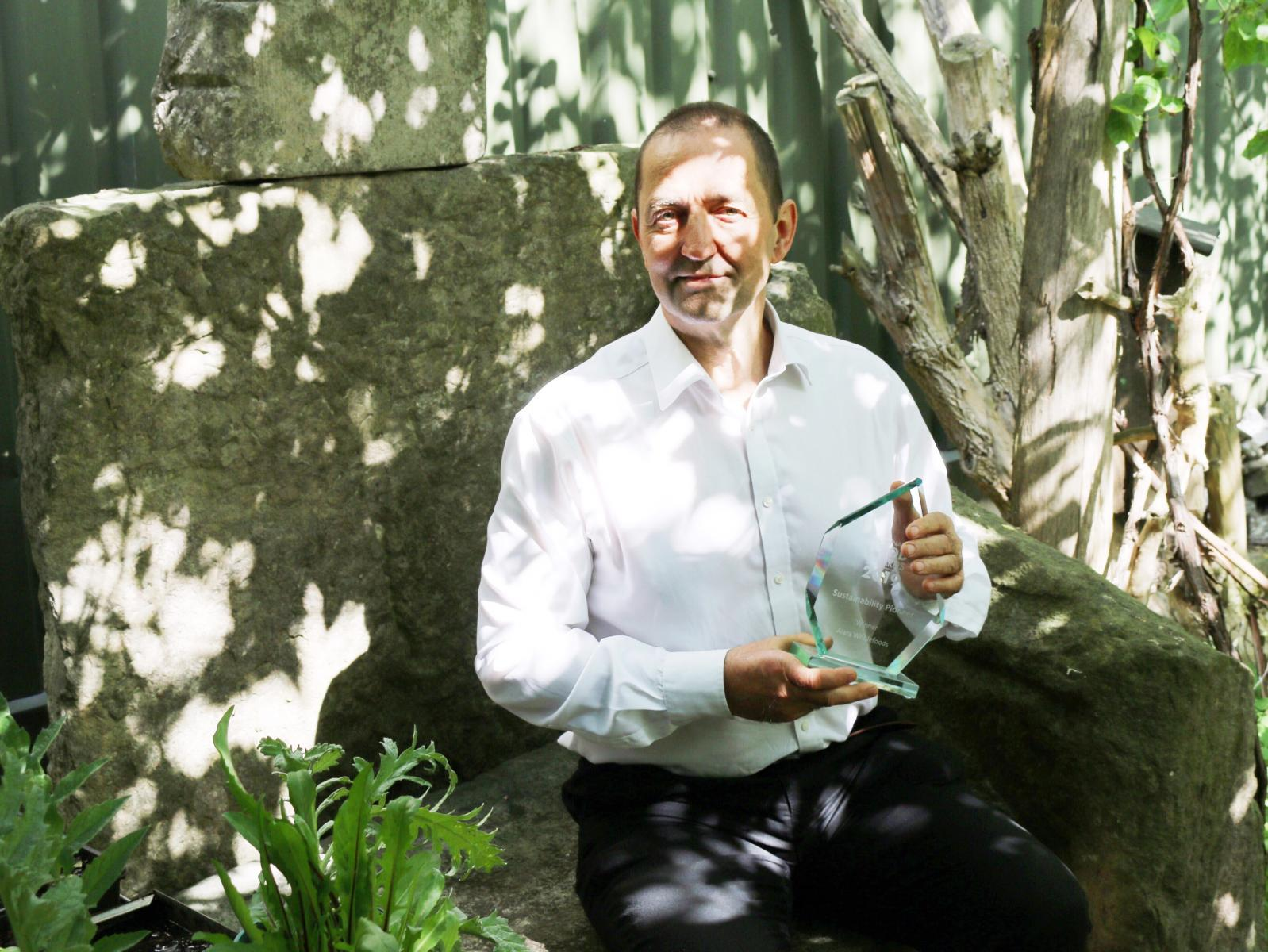 Alex Smith - founder of Alara Wholefoods Ltd