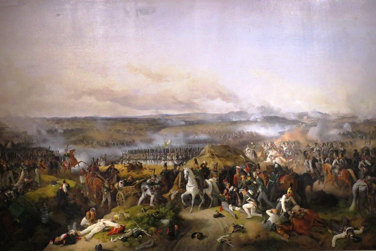 Battle of Borodino by Peter von Hess. Public domain