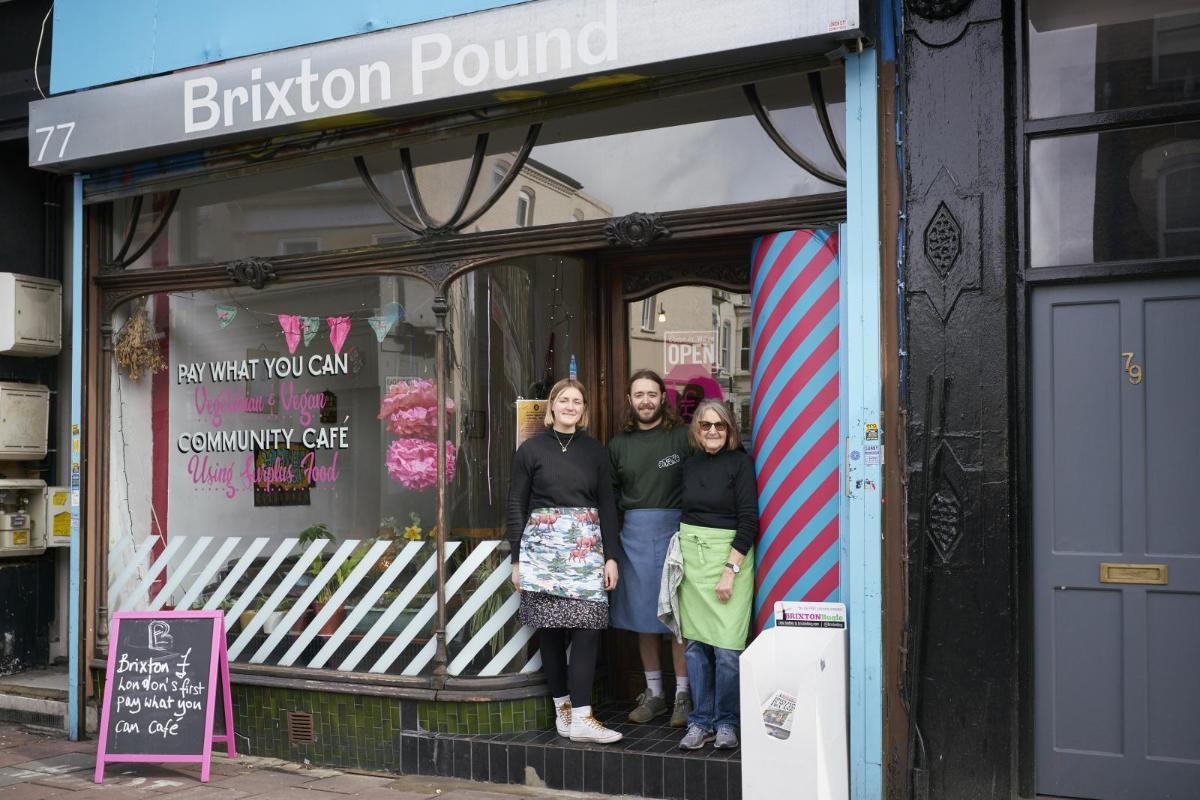 Brixton Pound Cafe by Agnė Bekeraitytė