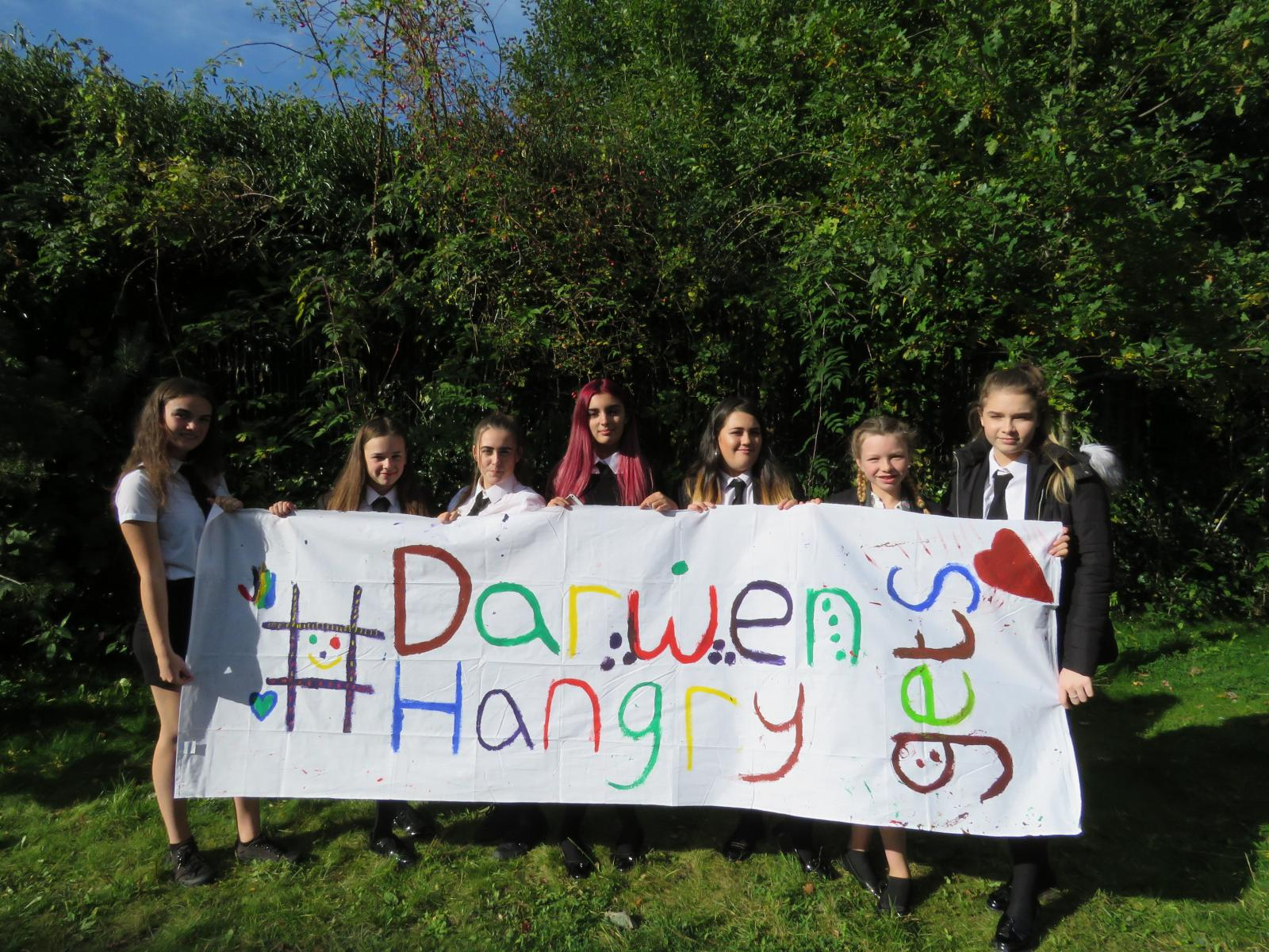 Young people from Darwen