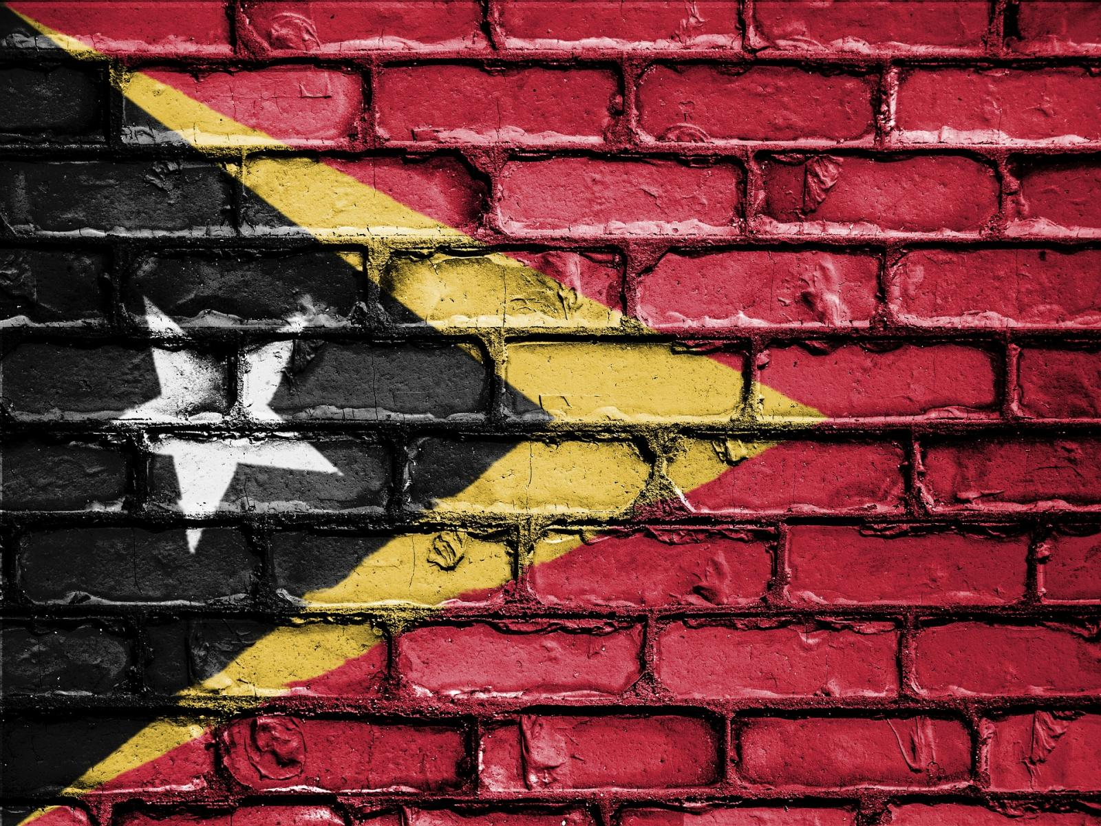 East Timor flag. Photo credit: Pixabay