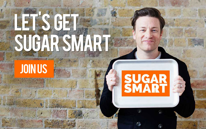 sustainweb.org - Go SUGAR SMART! Jamie and Sustain join forces on new campaign