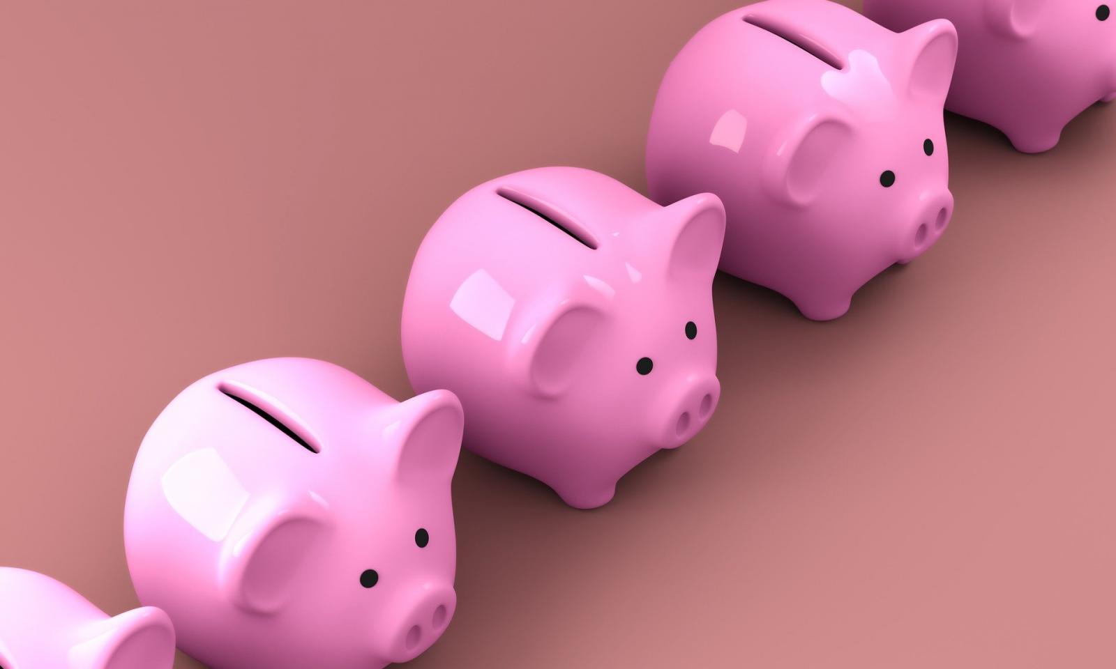 Piggy bank for retirement. Credit: Pixabay, QuinceCreative