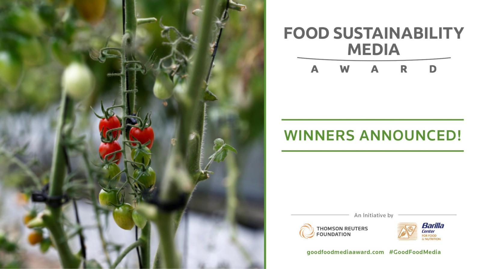 Image from the Food Sustainability Media Award