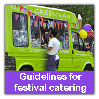 Guidelines for festival catering