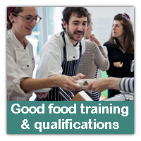 Good food training and qualifications