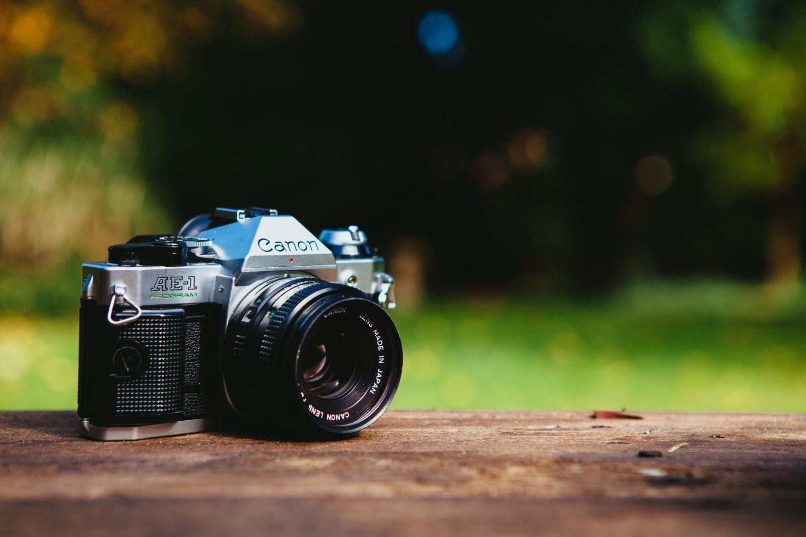 Camera. Photo credit: pexels