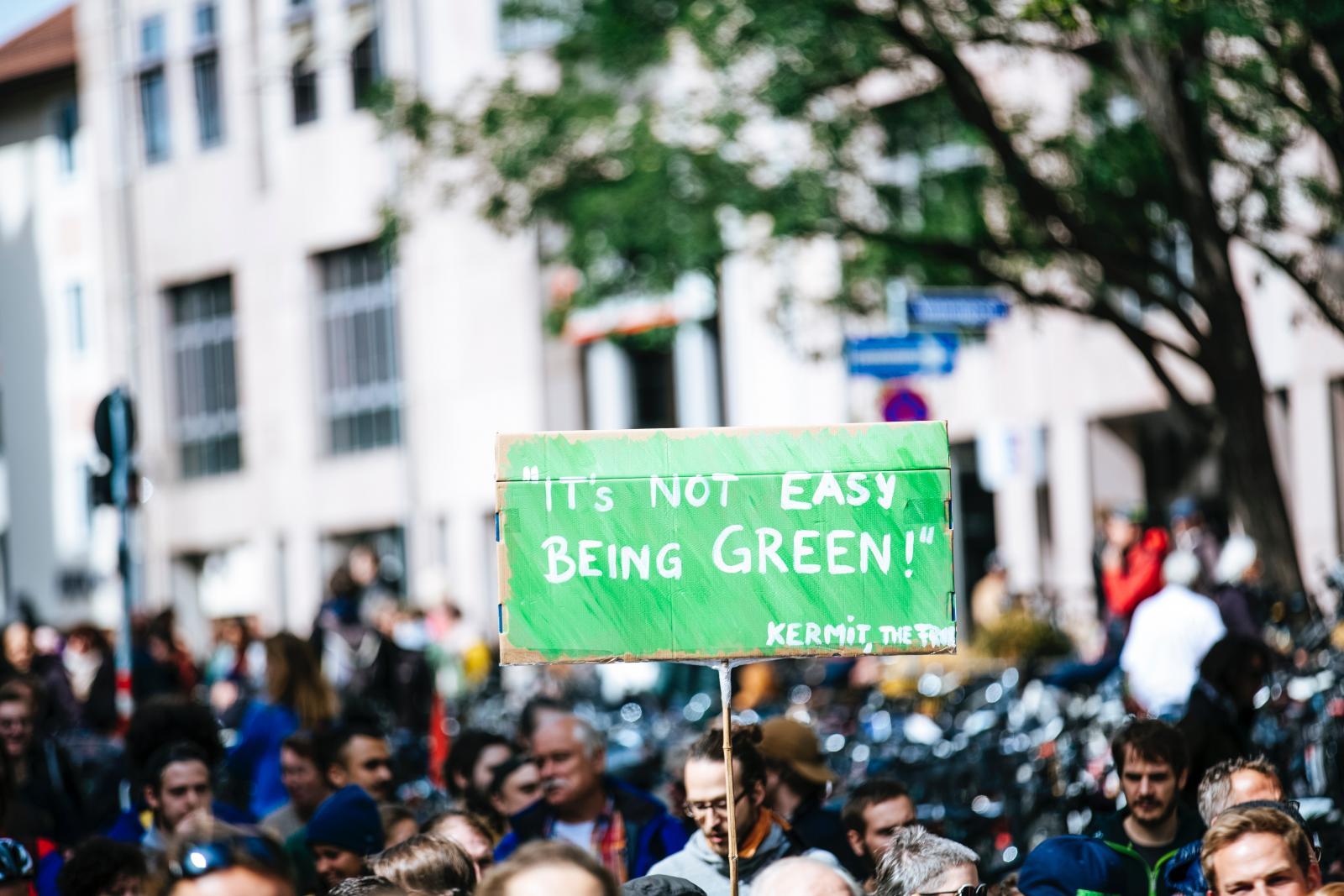 Climate crisis demonstration. Photo credit: Pexels
