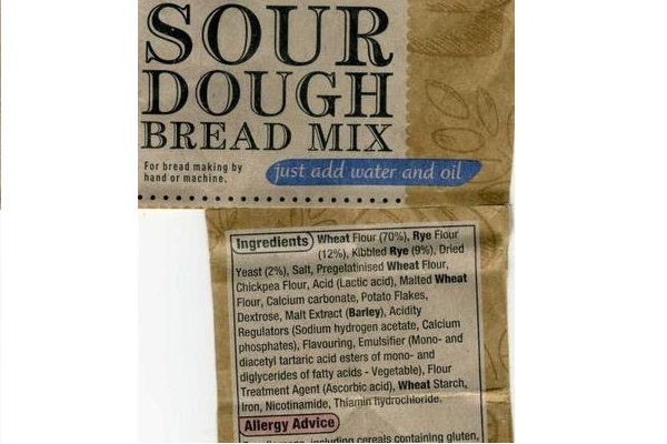 A supermarket sourfaux packet mix