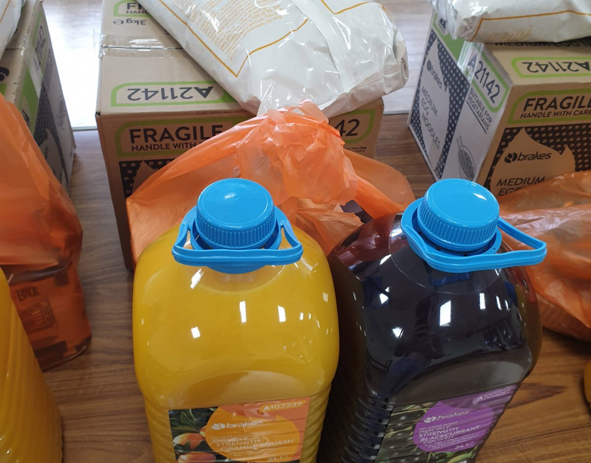Photo credit: Food parcel for clinically extremely vulnerable people, March 2020. Anonymous but verified source