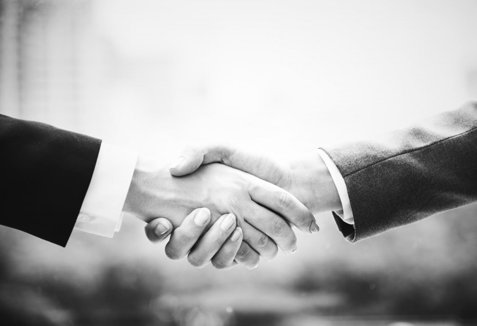 Handshake. Photo credit: Pexels