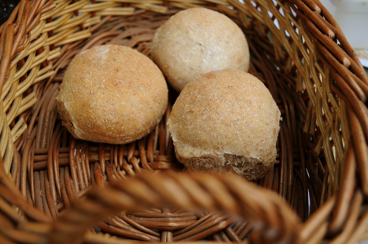 Pilar Lopez' rolls for Hornbeam Bakers' Collective's Local Loaves for Lammas event in 2010 by Chris Young / realbreadcampaign.org CC-BY-SA 4.0
