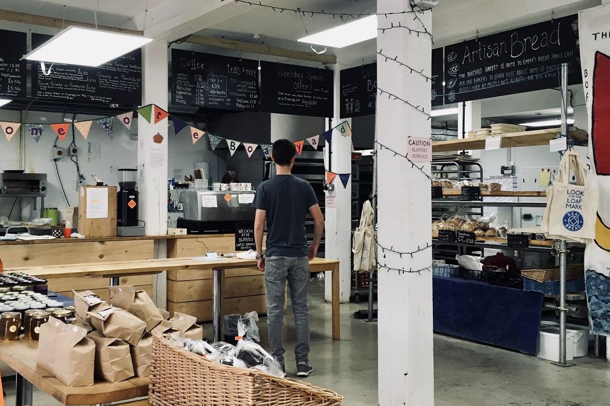 Photo © Emma's Bread at the Boatyard Bakery & Café