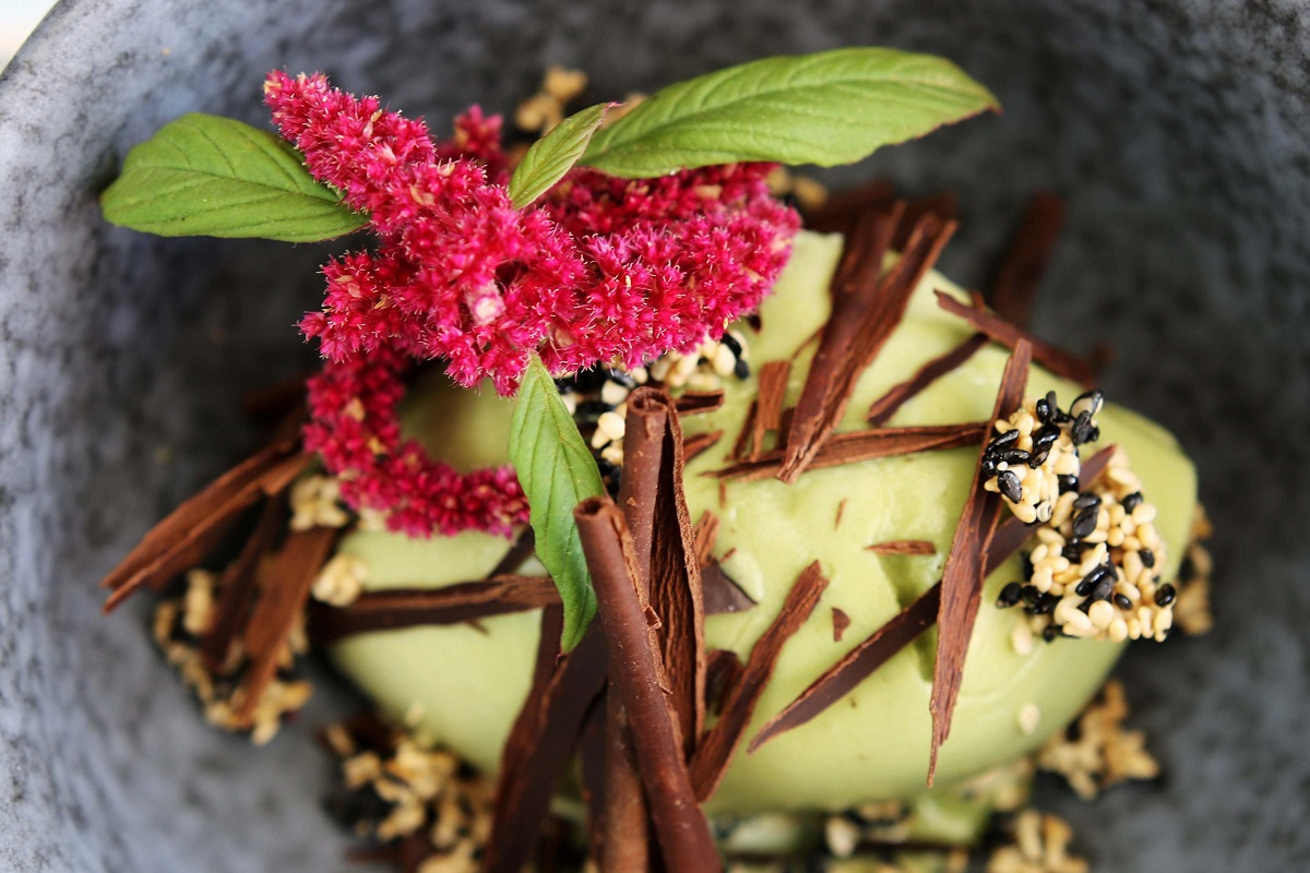 Matcha ice cream © The Willow