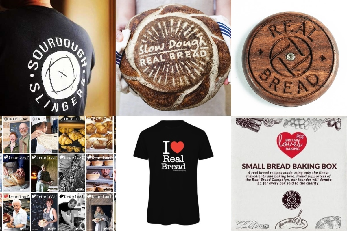 Some of the Real Bread gifts available