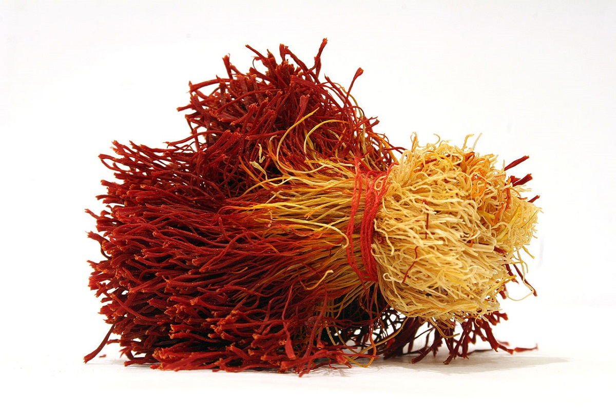 Saffron strands by Safa Daneshvar CC BY-SA 3.0