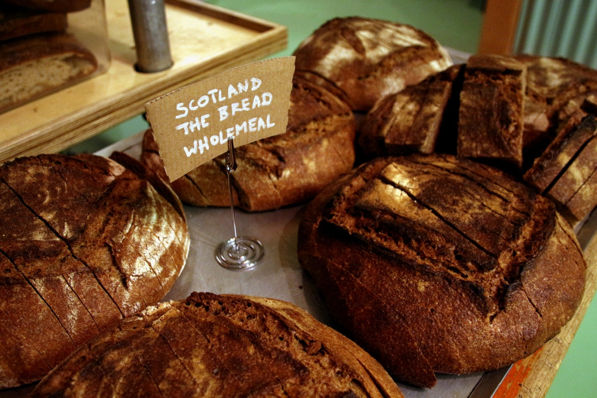 Scotland The Bread loaves at BATCH: London by Chris Young / realbreadcampaign.org CC-BY-SA 4.0