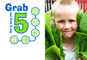 Grab 5 - promoting fruit and vegetable consumption