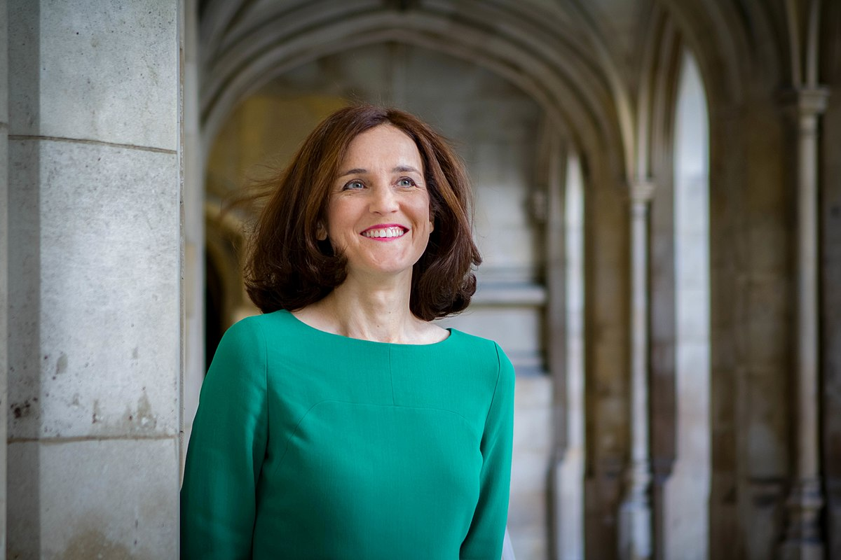 Photo: Theresa Villiers New Defra Secretary of State credit Nikki Powell https://creativecommons.org/licenses/by-sa/4.0)]