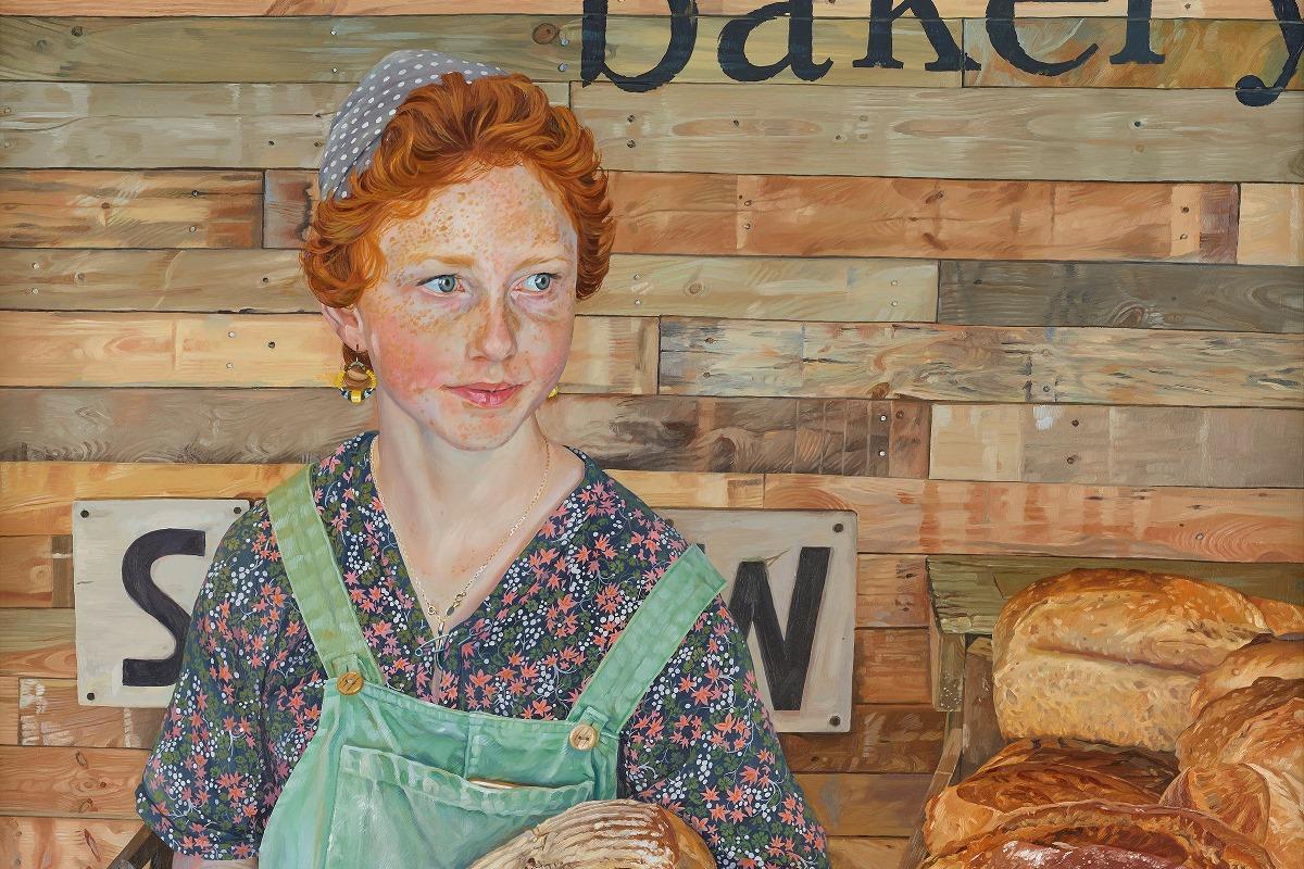 Kitty the Teenage Baker [detail] © Mark Draisey