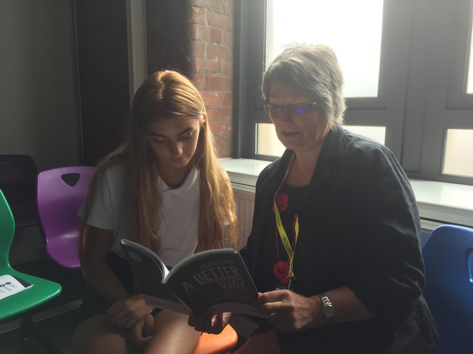 Tia Clarke and Gillian Beeley, Blackburn with Darwen Food Alliance (Food Power)