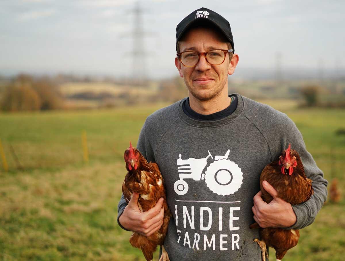 Indie Farmer founder Nigel Akehurst