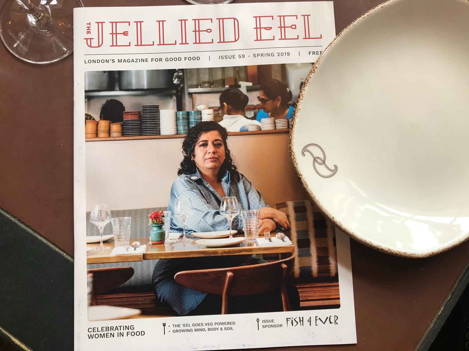 Jellied Eel Mag in situ at the Darjeeling Express