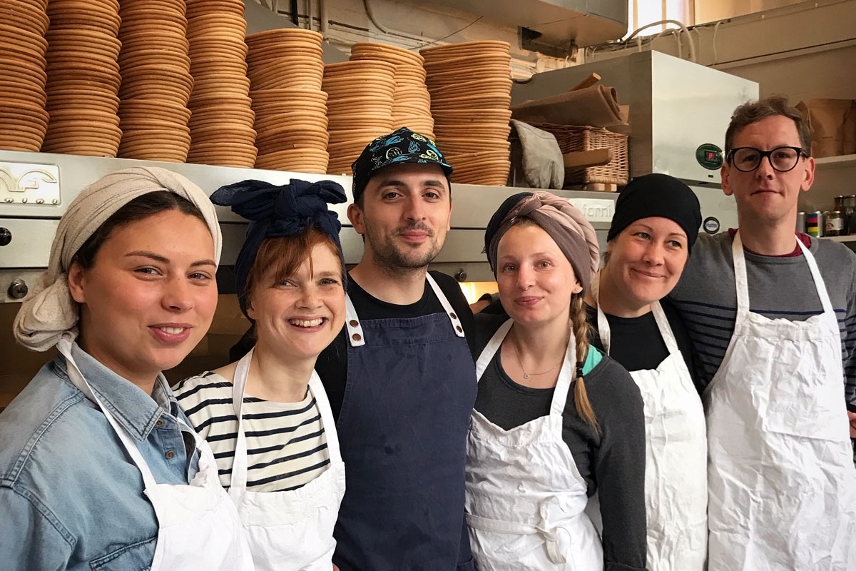 The Small Food Bakery team © The Small Food Bakery