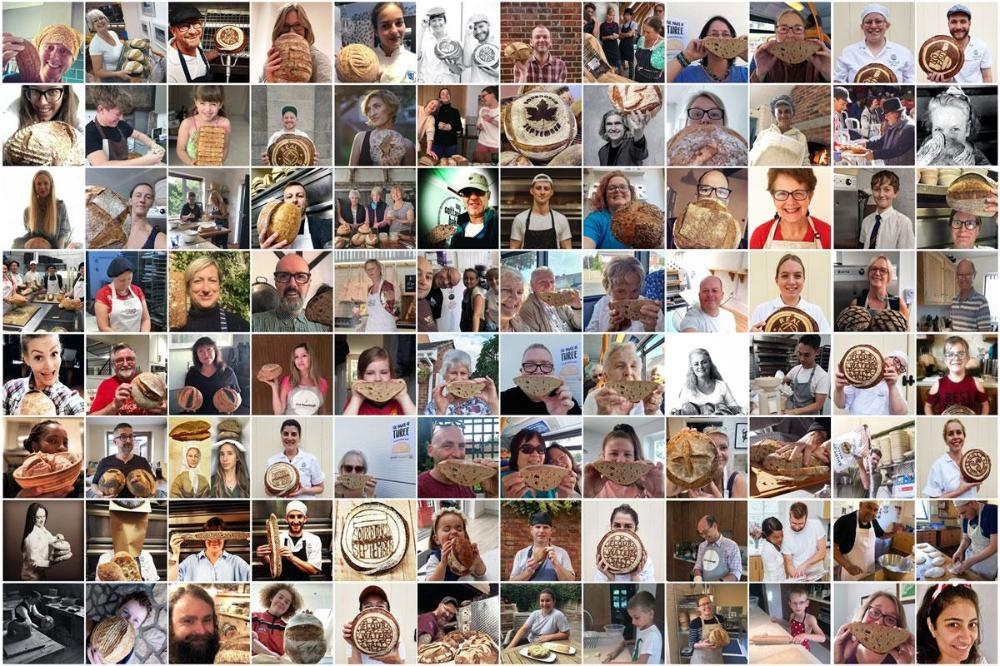 Montage © www.realbreadcampaign.org. Individual photo credits at: https://www.sustainweb.org/realbread/national_real_breadmaker_week/