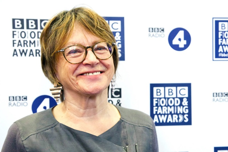 Sheila Dillon, presenter of BBC Food Programme. Photo credit: BBC