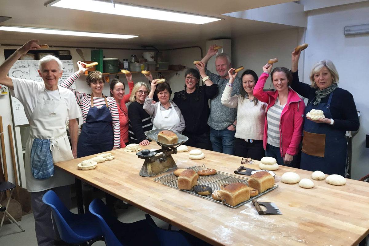 Bread Angels learning at Panary © Jenny Hammerton