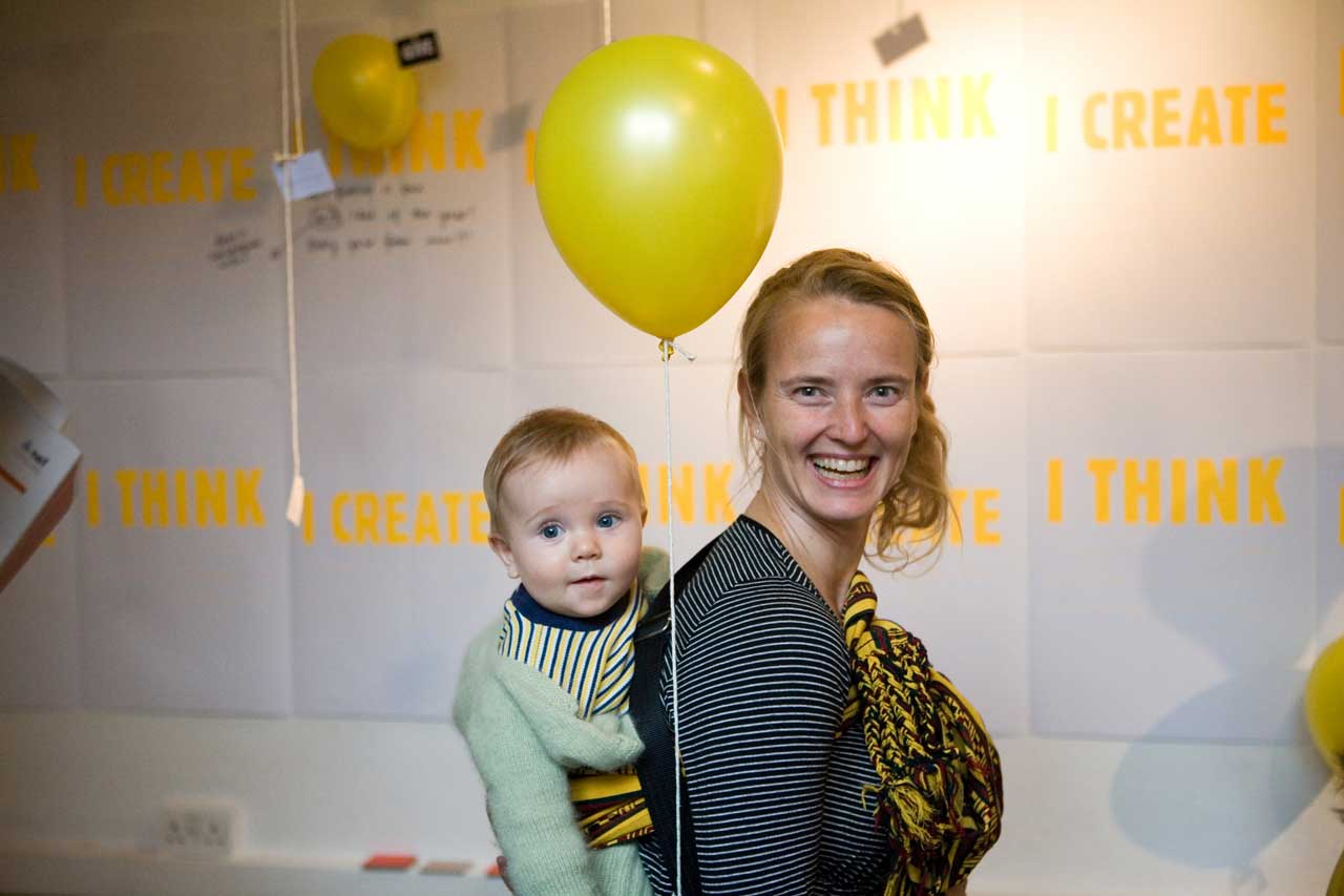 Photo: Desiree and Aksel at the festival in 2009 © timmitchellphotography.co.uk