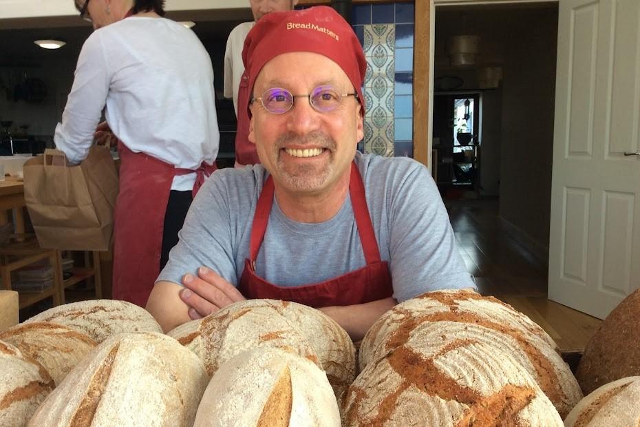 Eric in a Bread Matters class © Eric Pallant