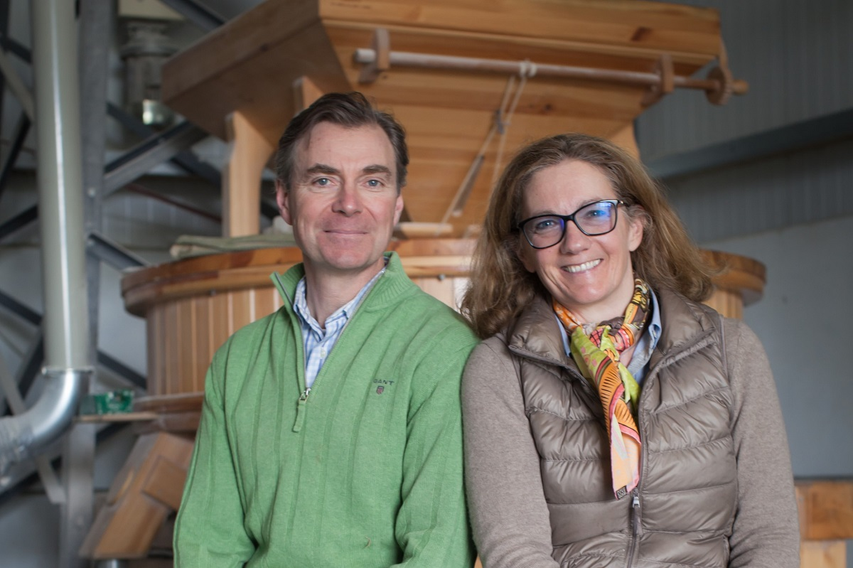 Andrew and Sybille Wilkinson, Gilchesters Organics © Victoria Harley