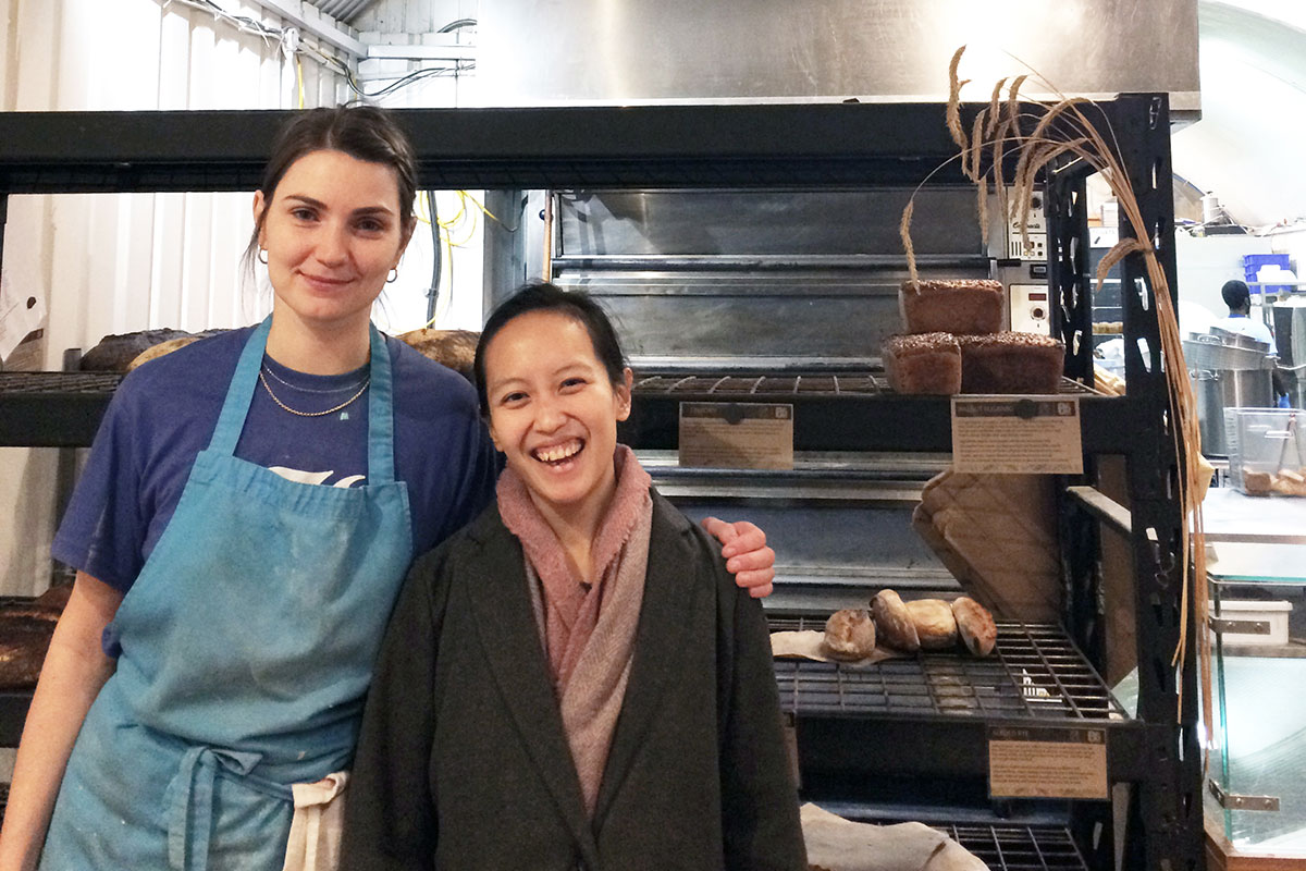Lizzie Parle from E5 Bakehouse with Chernise Neo © Chernise Neo