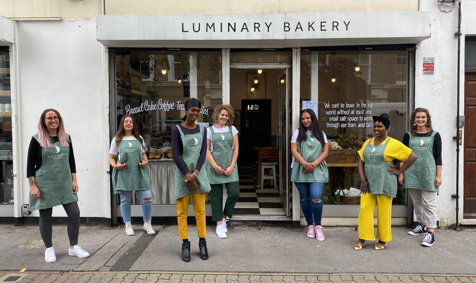 The team at Luminary Bakery
