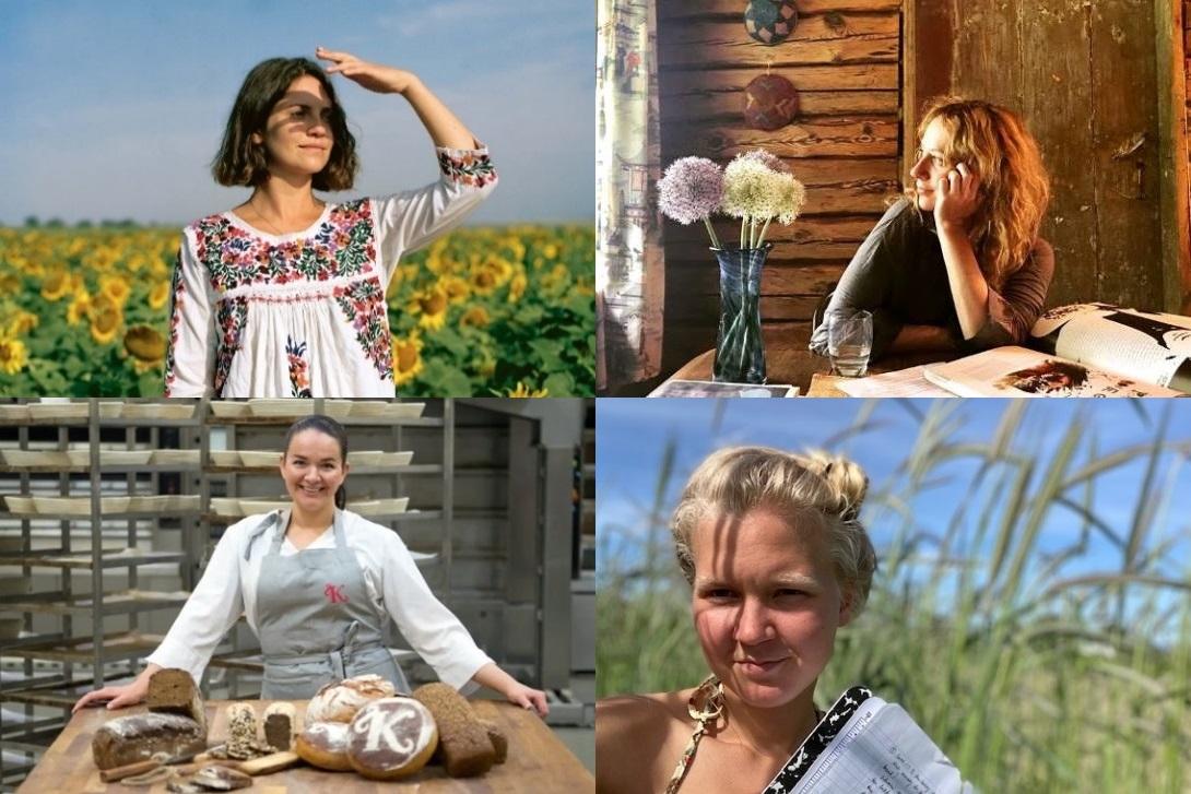 Olia Hercules, Katrina Kollegaeva, Nadia Gencass and Laura Valli