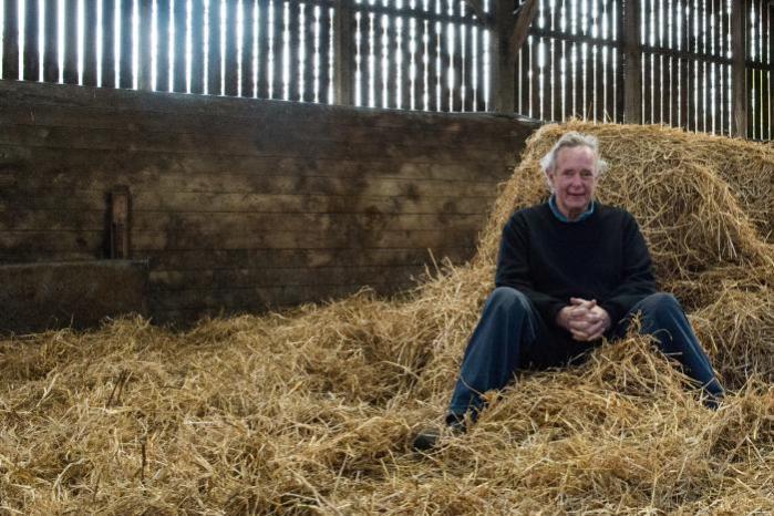 Peter Melchett at his farm in Norfolk. Credit: Georgina Rose Thomas