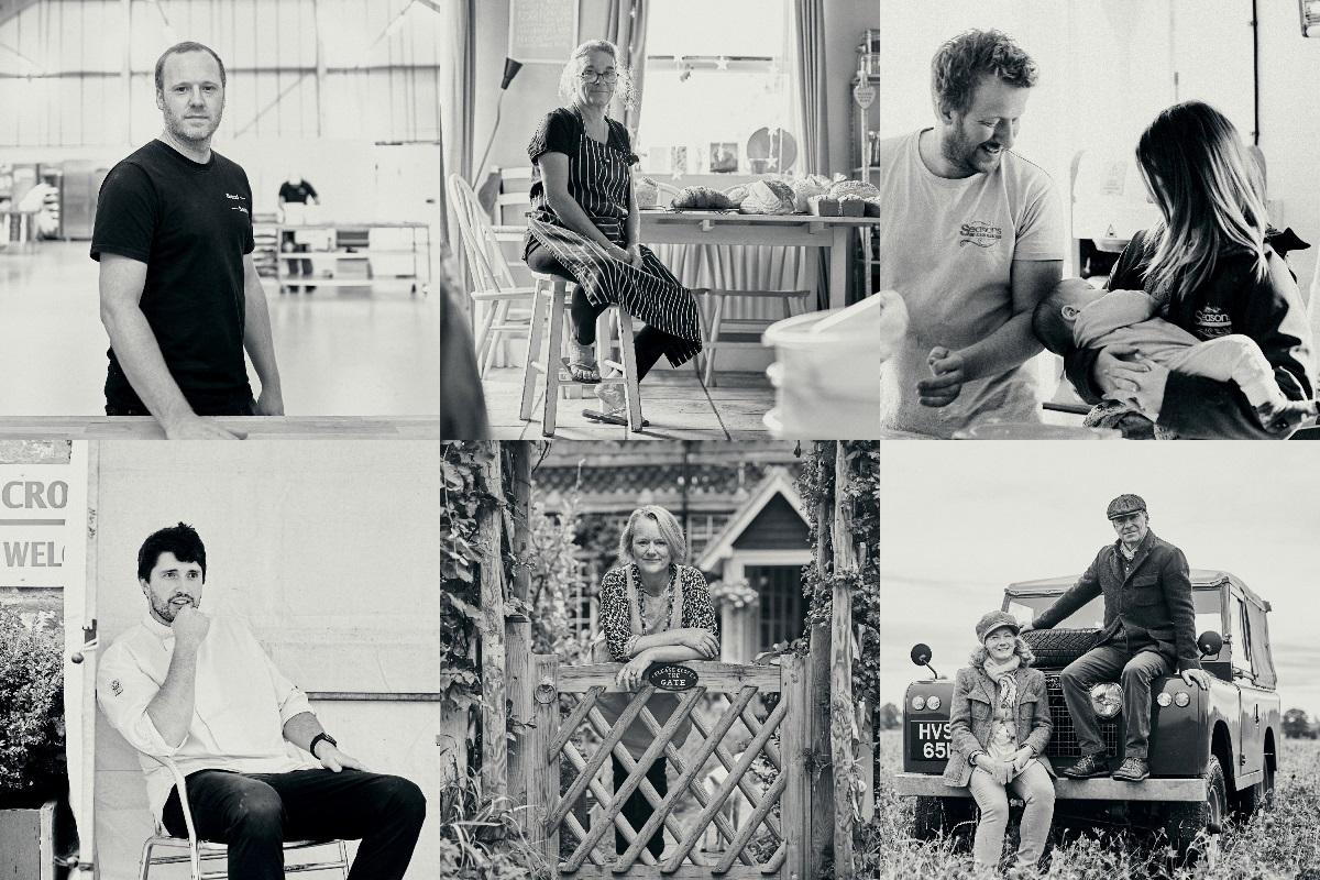 Steven Winter, Liz Wilson, Dan Nemeth, Osian Jones, Ruth Wilkinson, Sybille and Andrew Wilkinson. Photos © Henry Kenyon