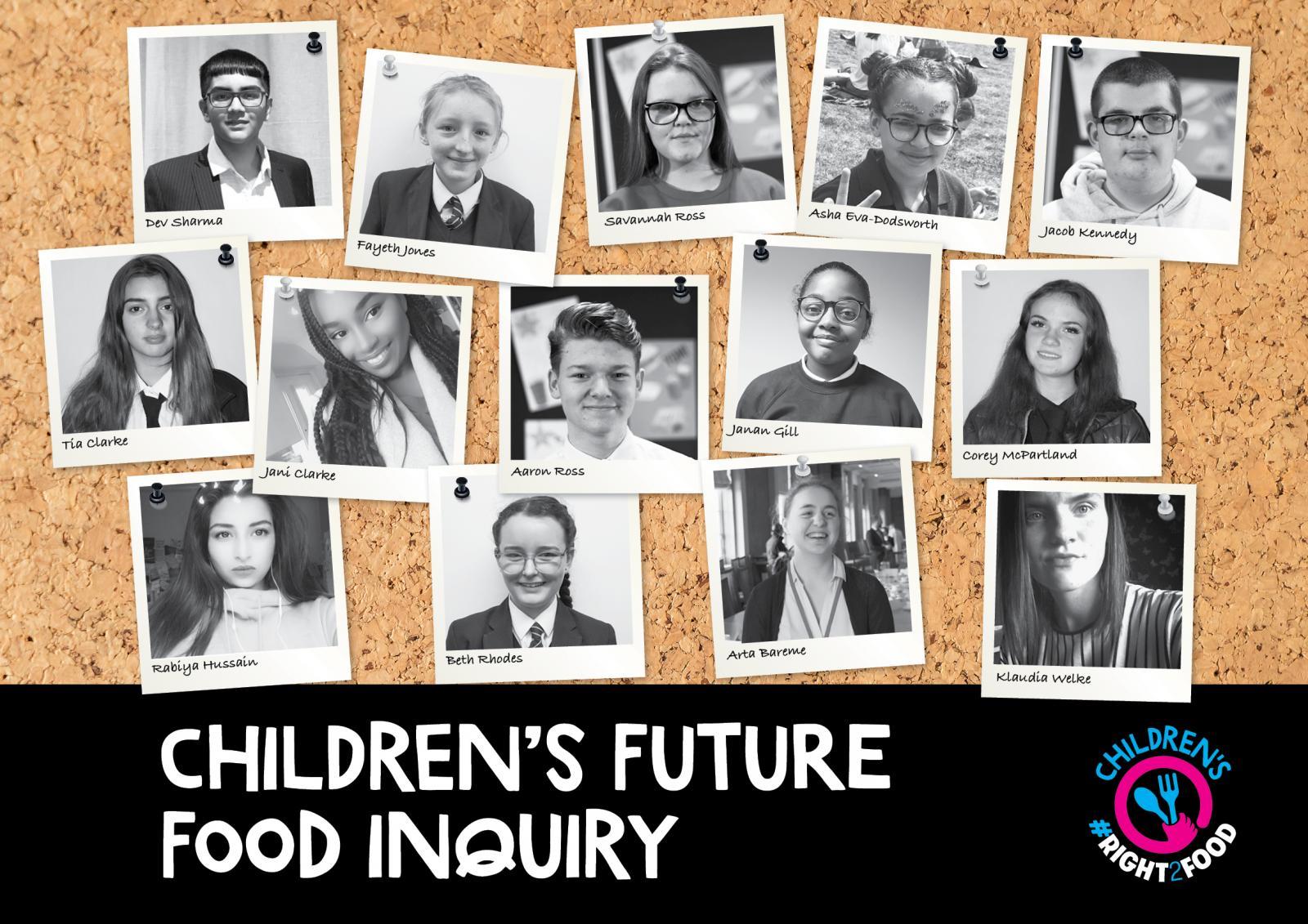 Copyright: Food Foundation/Children's Future Food Inquiry