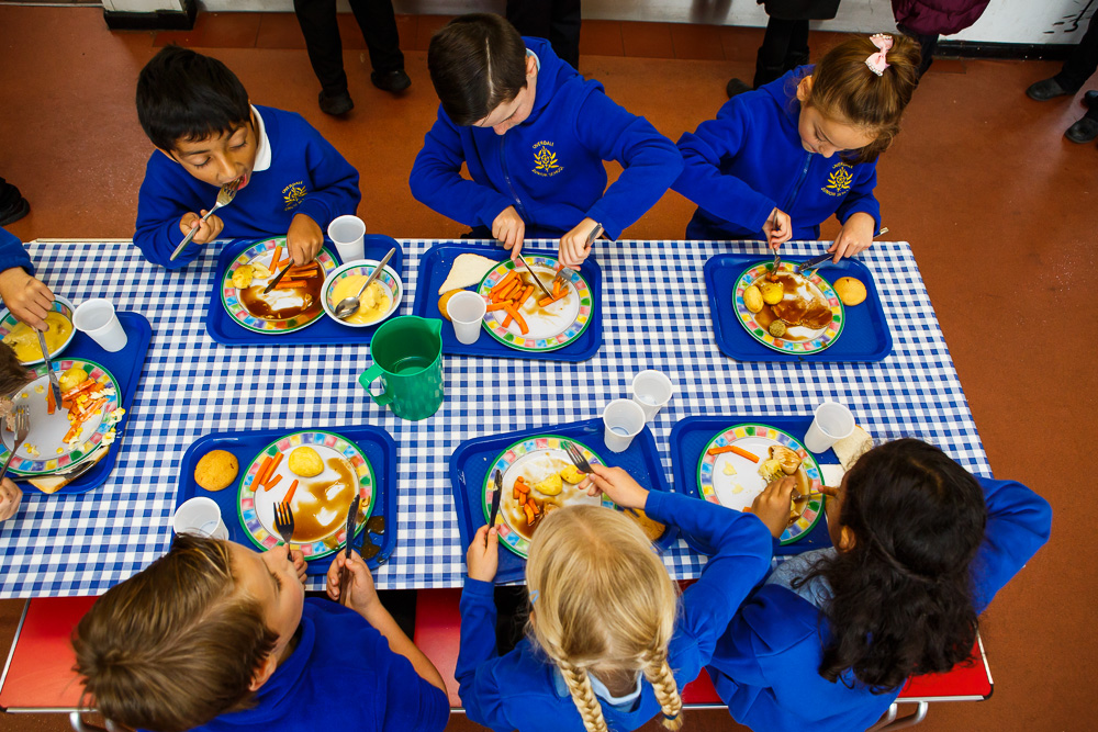 School meals. Photo credit: Sustain