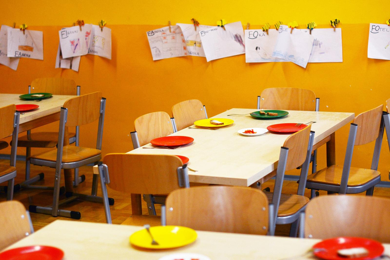 Snacks in a primary school. Photo credit: Pixabay
